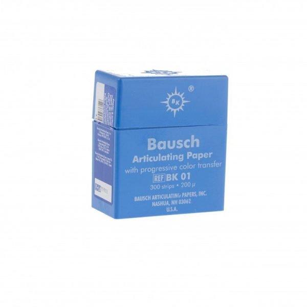 Bausch 200u Articulating Paper - Plastic Dispenser Blue