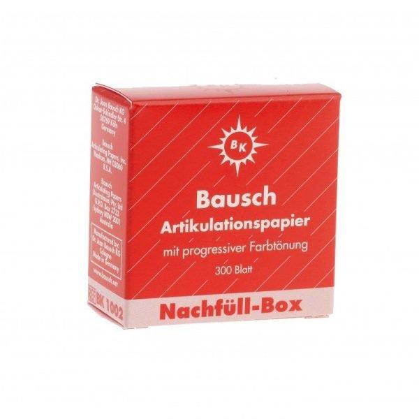 Bausch 200u Articulating Paper - Refil Box Red