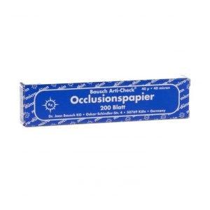 Bausch 40u Articulating Paper Blue