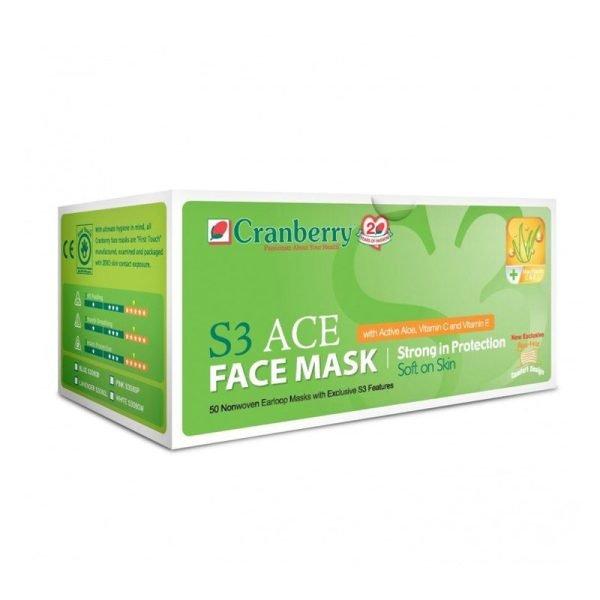 Cranberry S3 ACE Face Mask