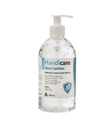 handicare hand sanitiser