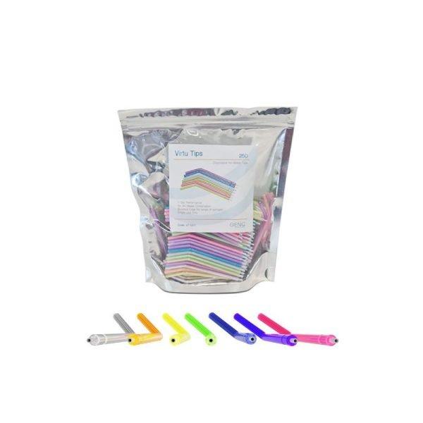 virtu tips syringe tips in pack of 250 pcs
