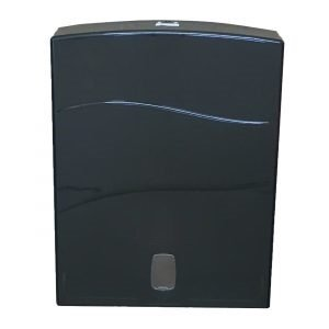 Paper Towel Dispenser Gienic Ultraslim Black