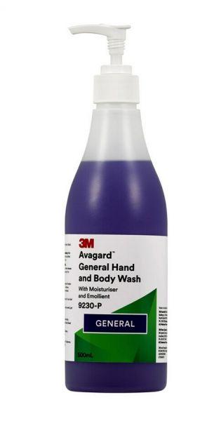 9230-P Avagard General Hand & Body Wash 500ml