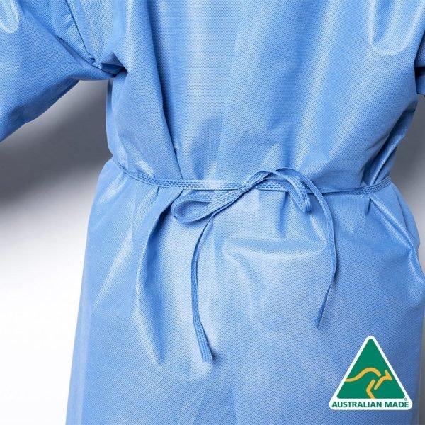 isolation gown sofmed elastic